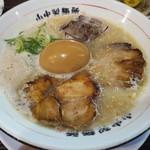山中製麺所 - 煮玉子らーめん