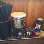 山中製麺所 - 卓上調味料