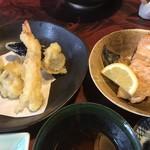 鮨政 - 天ぷらと焼き魚