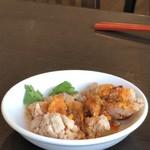 台湾料理 鼎 - セットの油淋鶏ハーフ