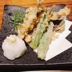 あわい - 稚鮎の天ぷら