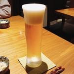 あわい - 生ビールの中