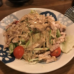 とりかわ博多 かわっこ 佐世保店 - 棒棒鶏サラダ