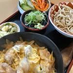 狐狸庵 - 料理写真:親子丼セット 850円