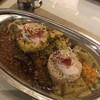 旧ヤム鐵道 - 料理写真:ご飯を2つに分けてます