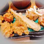 おかにわ - 唐揚・チクワの天ぷら・照り焼き