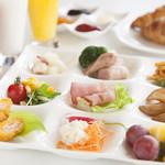 リビエルージュ - 料理写真:バラエティ豊かな朝食メニュー