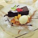 イタリアン&バール アルバータ - 生チョコガトーショコラ