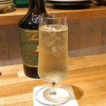 時喰み - Somerset Cider Brandy 5 years old のハイボール
