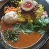 カリガリ - 料理写真:アキバ盛りカレー2