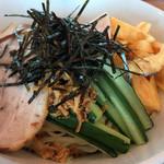 田中製麺 - 冷やし中華アップ