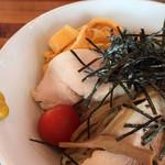 田中製麺 - 冷やし中華の具材