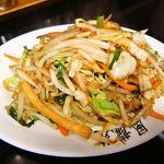 風龍苑 - 料理写真:野菜炒め!