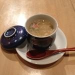 紅さんざし - あんかけ茶碗蒸し