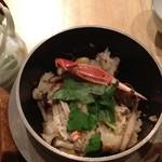 紅さんざし - 釜飯とお茶漬けのどちらかチョイス出来ます