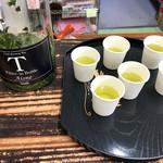 和束茶カフェ - ドリンク写真:水出しの新茶 試飲(2019.6月初旬)