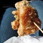 鶏樹庵 - 料理写真:から揚げ骨なし 100g ¥230