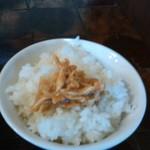 鳥空海 - 鳥味噌ご飯