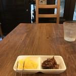 洋食ますだ - そして自家製のたくあんと生姜の佃煮(2019.6.7)