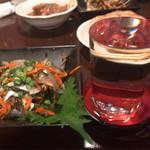 フルミチ  - 日本酒(芳泉 辛口)280円 激安! とままかり 倍盛