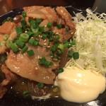 フルミチ  - 豚皿(一度焼いた豚肉を煮込んだ逸品) 350円