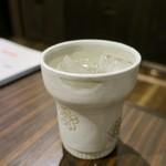 串揚げ 千金丹 - 対馬焼酎(米) こっぽうもん 620円