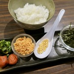 串揚げ 千金丹 - お茶漬け 680円