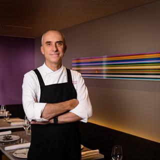 文民功労勲章を叙勲したシェフが携わるスペイン料理店