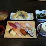 美代寿司 - 美代寿司セット(竹)
