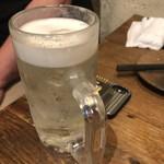 グリルキッチン チャンポン - ちゃんぽん(チューハイプレーン+ビール泡乗せ)