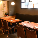 チキンプレイス - テーブル