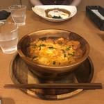 エスニックキッチン&バル バイダム - タンドリーチキン親子丼