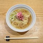 米子さっかどう - 煮干蕎麦