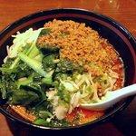 Toyosuramen - 汁無し担々麺(大)780+100円
