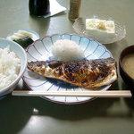 食堂 筑波 - 「塩サバ定食」750円