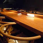 焼鳥 市松 - ☆カウンター席もデートにぴったりの雰囲気です☆