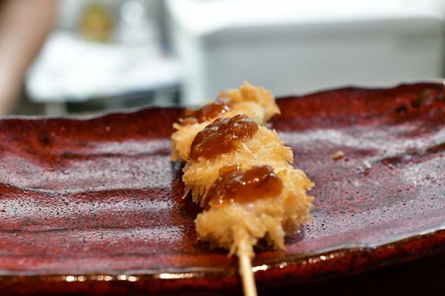 大阪串かつ 半妻の料理の写真