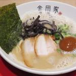 黒豚とんこつ金田家 - 【黒豚らーめん + 煮玉子】¥880 + ¥150