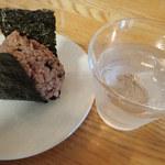 カフェ・オリーブガーデン - 酵素玄米おにぎり(ひじき)
