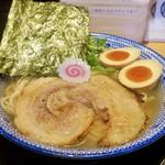109212931 - マグロ節の中華そば 味玉入り(880円)