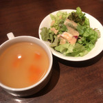 nikukitchin BOICHI - スープ・サラダ付き