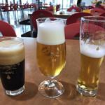 キリンビール 取手工場 - ドリンク写真:キリン一番搾り飲み比べ