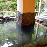 酒の宿 玉城屋 - 男性大浴場(露天風呂)