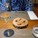 酒の宿 玉城屋 - アミューズ & シャンパン