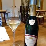 酒の宿 玉城屋 - アミューズに合わせたシャンパン