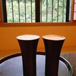 酒の宿 玉城屋 - ルームサービスで生ビールを注文しました