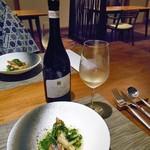 酒の宿 玉城屋 - 真鯛のポワレ & 白ワイン