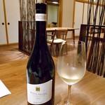 酒の宿 玉城屋 - 「真鯛のポワレ」に合わせた白ワイン