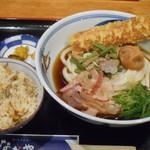 109221204 - ちく天梅山菜ぶっかけうどん