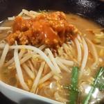 楽楽一番 - 台湾味噌ラーメン580円